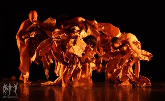 paper dance - parades & changes, replays - Anne Collod/Anna Halprin © Jérome Delatour